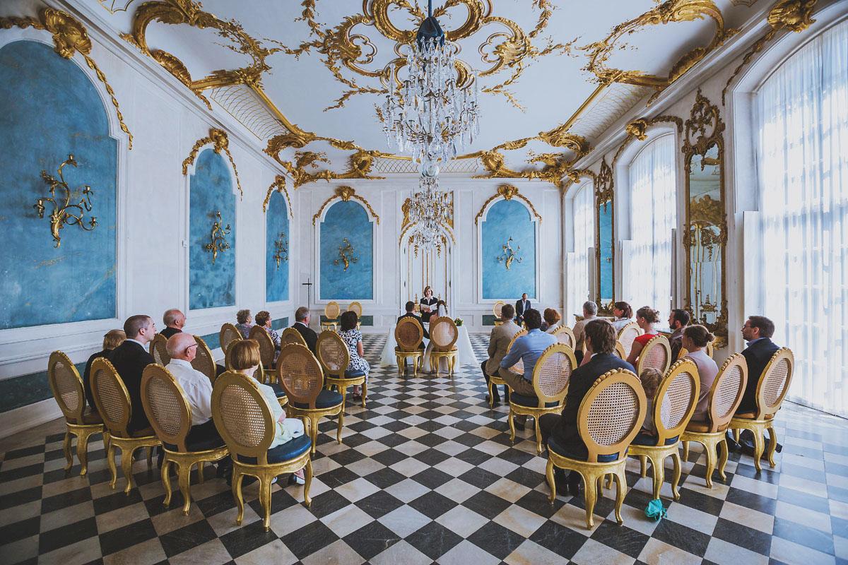 Hochzeit in der Blauen Galerie im Schlosspark Sanssouci