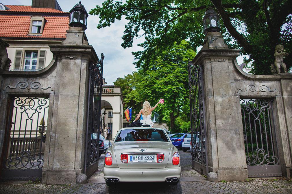 Hochzeitsfeier im Schlosshotel im Grunewald
