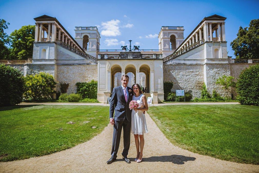 Hochzeit im Belvedere in Potsdam